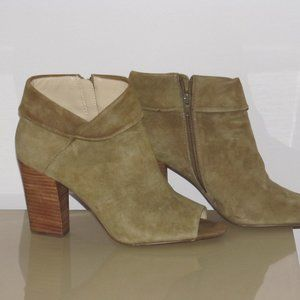 Nine West Zanaideo booties boots leather tan